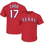 Majestic Youth Texas Rangers Shin-Soo Choo #17 Royal T-Shirt