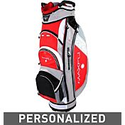 Maxfli U/Series 4.0 Personalized Cart Bag – Red/Grey