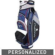 Maxfli U/Series 4.0 Personalized Cart Bag - Black/Blue/White