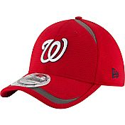 New Era Men's Washington Nationals 39Thirty Red Reflectaline Flex Hat
