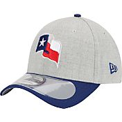 New Era Men's Texas Rangers 39Thirty Clubhouse Wool Grey Flex Hat
