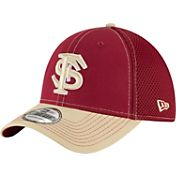 New Era Men's Florida State Seminoles Garnet/Gold Team Front Neo 39Thirty Hat