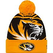 New Era Men's Missouri Tigers Gold/Black Logo Whiz 2 Knit Beanie