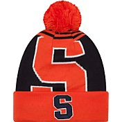 New Era Men's Syracuse Orange Logo Whiz 2 Orange/Blue Knit Beanie