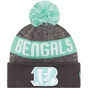 New Era Cincinnati Bengals Sport Clear Mint Knit Beanie