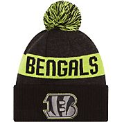 New Era Men's Cincinnati Bengals Sport Cyber Yellow Knit Beanie