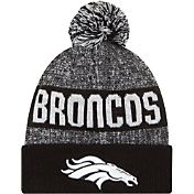 New Era Men's Denver Broncos Sport Black Knit Beanie