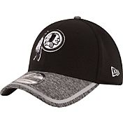 New Era Men's Washington Redskins 2016 Training Camp 39Thirty Black/White Flex Hat