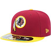 New Era Men's Washington Redskins Sideline Authentic 59Fifty Red Fitted Hat