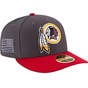 New Era Men's Washington Redskins Crafted in America 59Fifty Graphite Fitted Hat