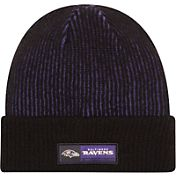 New Era Men's Baltimore Ravens Sideline 2016 Tech Knit Hat