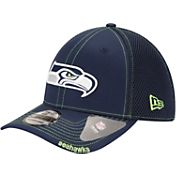 New Era Men's Seattle Seahawks 39Thirty Neo Navy Flex Fitted Hat