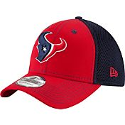 New Era Men's Houston Texans Team Front Neo 39Thirty Flex Hat