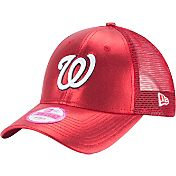 New Era Women's Washington Nationals 9Forty Glam Team Red Adjustable Hat