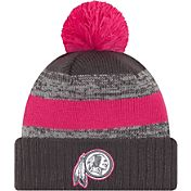 New Era Women's Washington Redskins Breast Cancer Awareness 2016 Pink Pom Knit