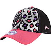 New Era Youth Girls' Baltimore Orioles 9Forty Cheetah Chic Adjustable Hat