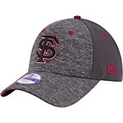 New Era Youth Florida State Seminoles Grey The League Shadow 9Forty Adjustable Hat