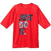 Nike Boys' Granite Hydro Short Sleeve Shirt