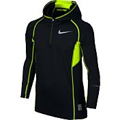 Nike Boys' Pro Hyperwarm Max Flash Quarter Zip Hoodie