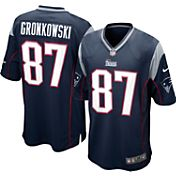 Nike Boys' Home Game Jersey New England Patriots Rob Gronkowski #87