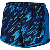 Nike Girls' Dry Overdrive Printed Tempo Running Shorts