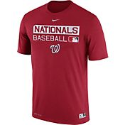 Nike Men's Washington Nationals Dri-FIT Authentic Collection Red Legend T-Shirt