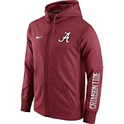 Nike Men's Alabama Crimson Tide Crimson Circuit Full-Zip Hoodie