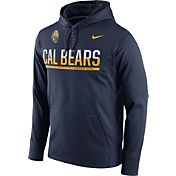Nike Men's Cal Golden Bears Blue Circuit PO Hoodie