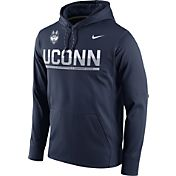 Nike Men's UConn Huskies Blue Circuit PO Hoodie