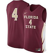 Nike Men's Florida State Seminoles #4 Garnet Replica Basketball Jersey
