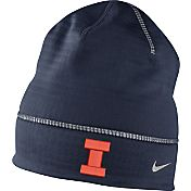 Nike Men's Illinois Fighting Illini Blue Champ Drive Fleece Beanie