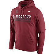 Nike Men's Arkansas Razorbacks Cardinal Circuit PO Hoodie