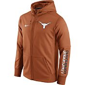 Nike Men's Texas Longhorns Burnt Orange Circuit Full-Zip Hoodie