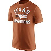 Nike Men's Texas Longhorns Burnt Orange Stadium Team First Stripe T-Shirt