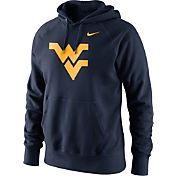 Nike Men's West Virginia Mountaineers Blue Classic Logo Hoodie