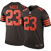 Nike Men's Color Rush 2016 Cleveland Browns Joe Haden #23 Legend Game Jersey