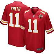 Nike Men's Home Game Jersey Kansas City Chiefs Alex Smith #11