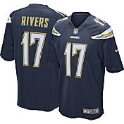 Nike Men's Home Game Jersey Los Angeles Chargers Philip Rivers #17 - Extended Sizes