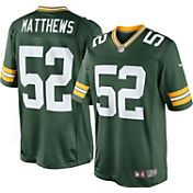 Nike Men's Home Game Jersey Green Bay Packers Clay Matthews #52