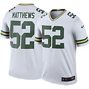 Nike Men's Color Rush 2016 Green Bay Packers Clay Matthews #52 Legend Game Jersey