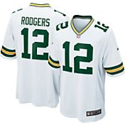 Nike Men's Away Game Jersey Green Bay Packers Aaron Rodgers #12 - Extended Sizes