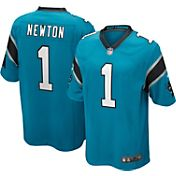 Nike Men's Alternate Game Jersey Carolina Panthers Cam Newton #1