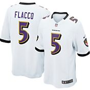 Nike Men's Away Game Jersey Baltimore Ravens Joe Flacco #5