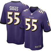 Nike Men's Home Game Jersey Baltimore Ravens Terrell Suggs #55