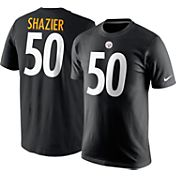 Nike Men's Pittsburgh Steelers Ryan Shazier #50 Pride Black T-Shirt