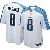 Nike Men's Away Game Jersey Tennessee Titans Marcus Mariota #8