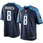 Nike Men's Home Limited Jersey Tennessee Titans Marcus Mariota #8