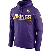 Nike Men's Minnesota Vikings Circuit Pullover Purple Hoodie