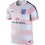 Nike Men's England Grey Prematch Top