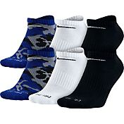Nike Dri-FIT Cushion No Show Socks 6 Pack